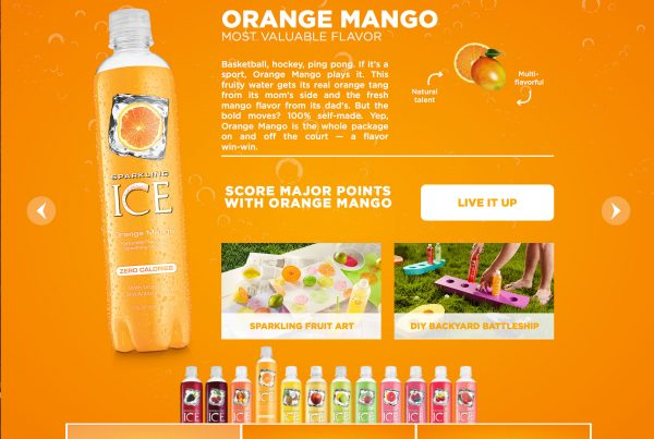 Sparkling ICE™ FlavorUp Your Summer – Lead Developer