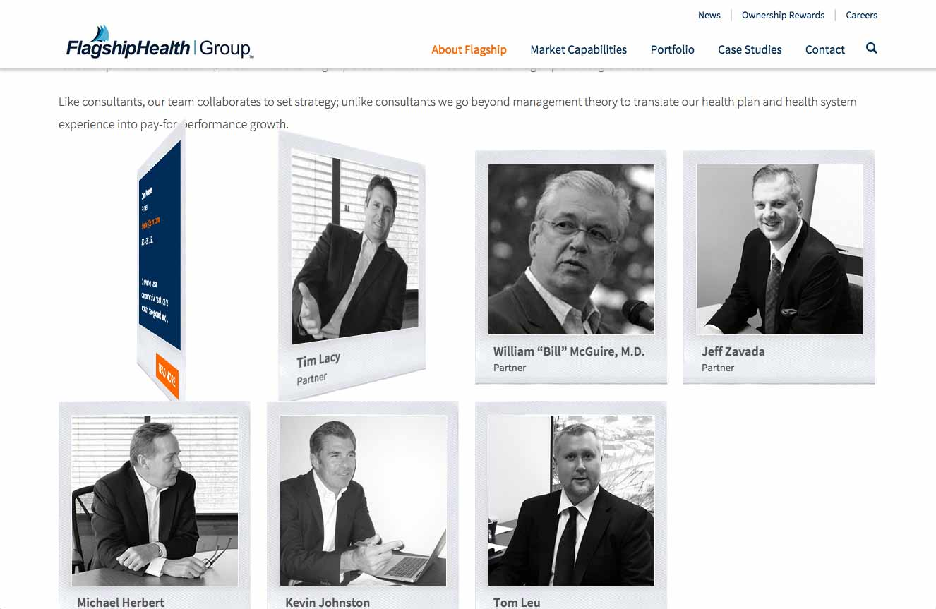 Flagshiphealthgroup.com Flagship Health Group - Polaroid Leadership